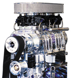 8-71 Big Block Kit Polished 3V Marine