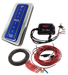 LED Lighted Indicator System by Mayfair with Trim Sync option for Use with Mayfair Trim Tabs Mayfair Electronic Sensors.
