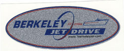 Large Berkeley Jet Sticker