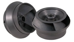 A Cut Aluminum Impeller
