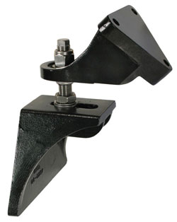 Adjustable Engine Mount Kit - Black