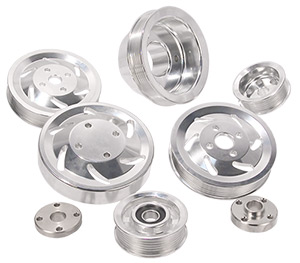 Billet Serpentine Pulley Kit