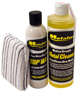Metal Wax Water Spot Remover Kit