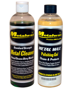 Metal Wax & Cleaner 16 Oz. Kit