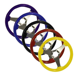 "14"" Polished Spoke Steering Wheel Formula S"
