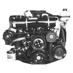 Closed Cooling System, Mercruiser - 4.3/5.0/5.7L Chevy 2002 only,Carbureted, Half-System