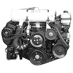 Closed Cooling System, Mercruiser - 4.3/5.0/5.7L Chevy 2002 only, Carbureted, Full-System