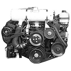 Closed Cooling System, Mercruiser - 4.3/5.0/5.7L Chevy 2002-2012, Carbureted, Full-System