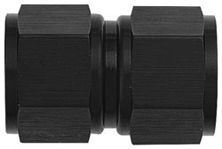 Black AN Female to Female Swivel Coupling