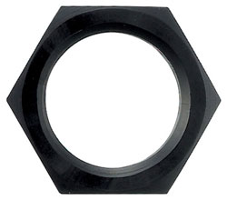 Black Bulkhead Nut