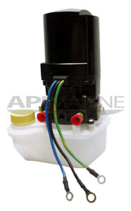 Power Trim Tab Motor / Pump, 12V, Mercury