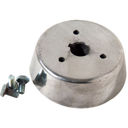"3/4"" Round Tapered Cast Aluminum Steering Shaft Adapter"