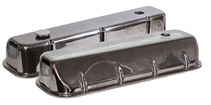 Xtreme Series Valve Covers, Polished with 3 Holes Machined