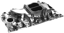 SE Sport Dual Plane Big Block Chevy Oval Port Intake Manifold - Polished