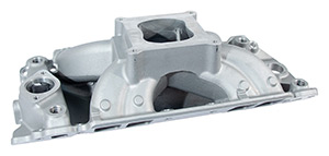 XS Xtreme Satin Finish Single Plane BBC Rectangular Port Intake Manifold
