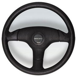"Antigua Steering Wheel 13.7"" Diameter, Black Soft Touch Polynylon"