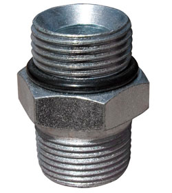 "Fitting Coupler - 1/2"" NPT to -12 AN"
