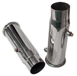 525 Standard Mercruiser Replacement Tailpipes