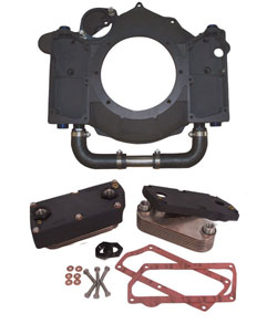 Dual Cooler Flywheel Housing Kit