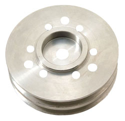 "Crankshaft Pulley, BBC 2-Groove 5"" Diameter"