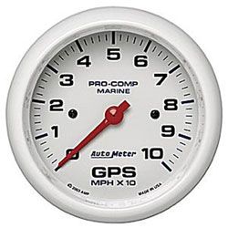Autometer 120 MPH GPS Speedometer 4-5/8""