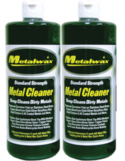 Metal Cleaner 32 Oz. Twin Pack