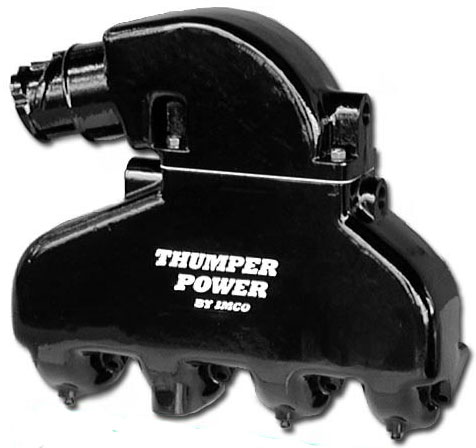 Thumper Power - Black Big Block Exhaust System w/Shift Bracket