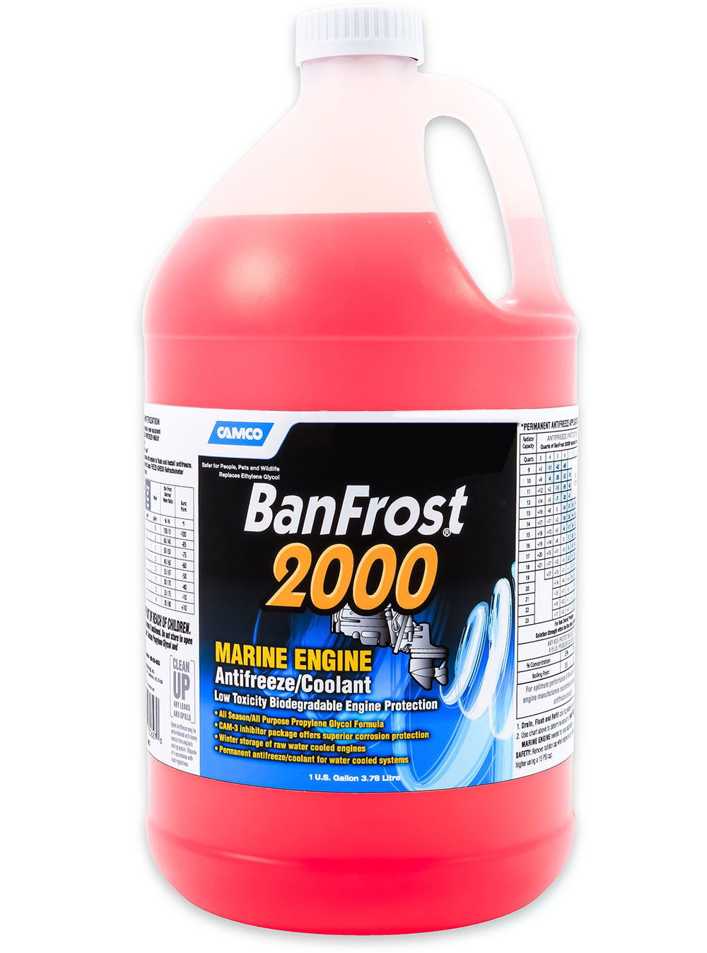 Cp Performance Ban Frost 2000 Gallons Marine Engine Coolant