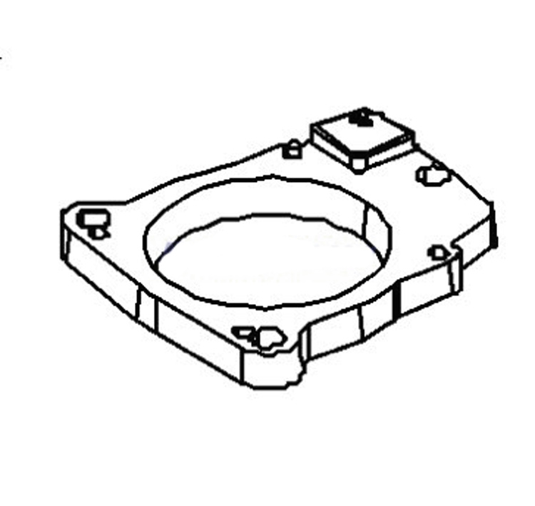 Mercruiser Throttle Body Adapter 862538001