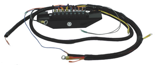terminal block style marine engine wiring harness 460 ford cp rh cpperformance com boat wiring harness diagram marine stereo wiring harness