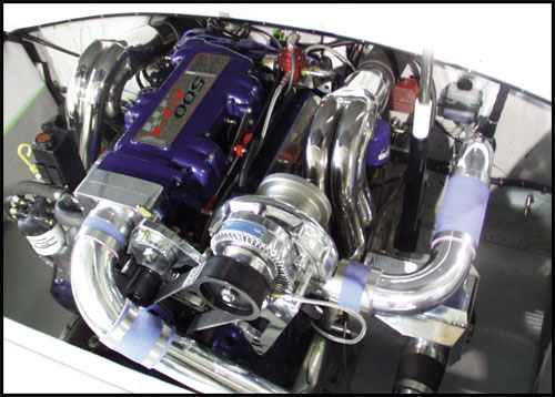 ProCharger Marine M-3 Intercooled Kit