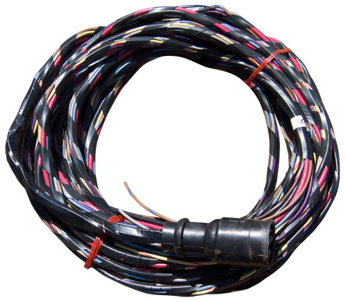 30 ft. boat wiring harness, wired for voltmeter and ... boat wiring harness connectors