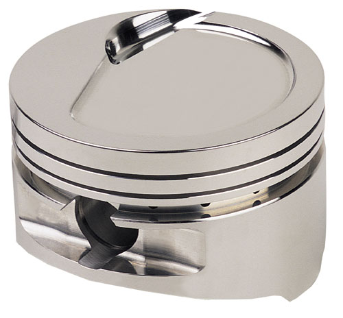 Sportsman Racing Pistons - Flat Top Piston Set, 9:1 compression