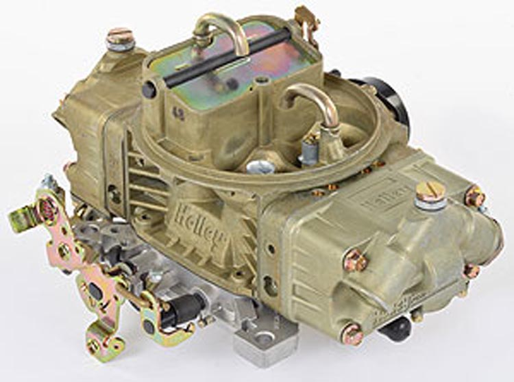 Model 4150 600 CFM Four Barrel Marine Carburetor with Mechanical Secondaries