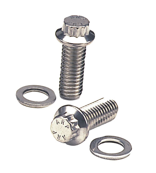 Small Block Chevy 6-point Hex Intake Bolt Kit