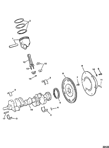 CP Performance - Crankshaft, Pistons and Connecting Rods