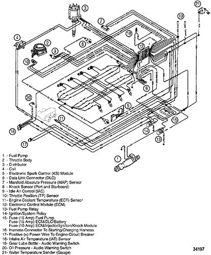 34197 cp performance wiring harness (efi) mercruiser 502 mpi wiring diagram at arjmand.co