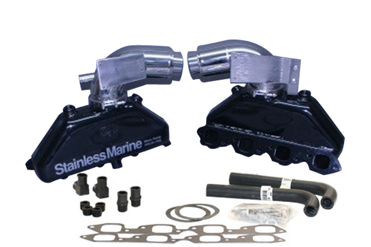 Stainless Marine Exhaust Manifolds, Tailpipes & Accessories