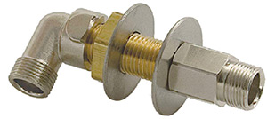Bulkhead Hose Fitting Kit, 3/4""