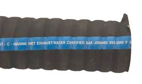 "2-7/8"" I.D Marine Water Certified Corrugated Exhaust Hose"