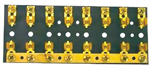 6 Gang Sfe/Agc/Mdl Fuse Block W/Hot Feed
