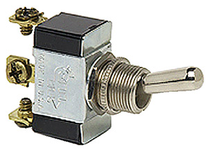 Heavy-Duty Single Pole Toggle Switch (COLE Hersee)