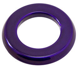 Billet Aluminum Push Button Switch Bezel