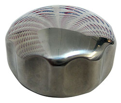 Stainless Steel Outdrive Trim Ram Cap