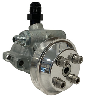 Crossover Mount Power Steering Pump with Hub