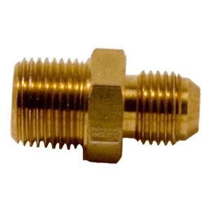 "Fitting -6 JIC X 3/8"" NPT Straight"