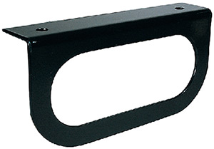 Anderson Black, Powder-Coated Steel Mounting Bracket For Use With Oval Lights