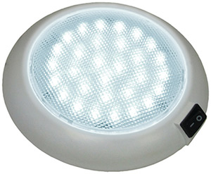 Great White Led Dome/Interior Light W/ Switch (PM)