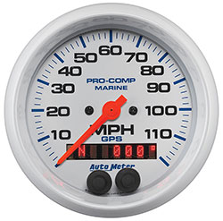 Autometer 100 MPH GPS Speedometer 3-3/8""