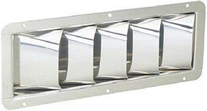 Louver Vent Stainless Steel